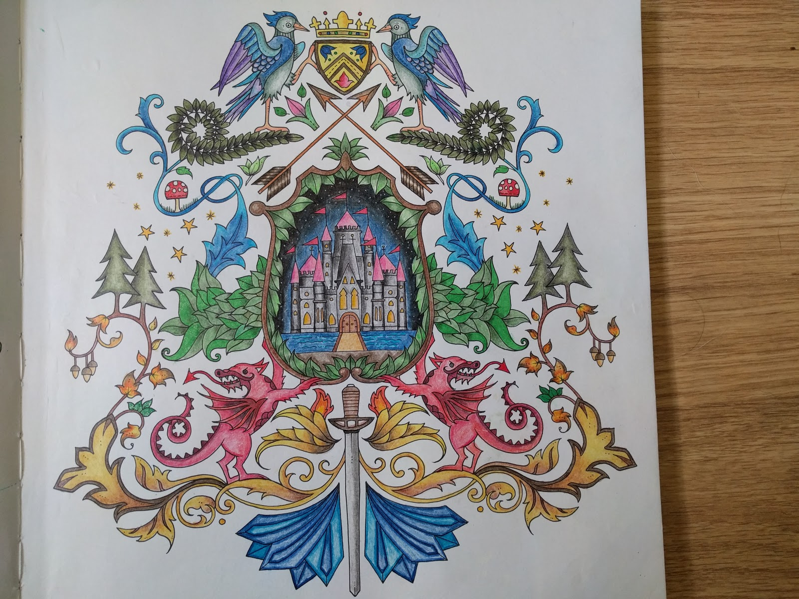 Here Is A Crest To Show You Where Your Goal Which The Castle