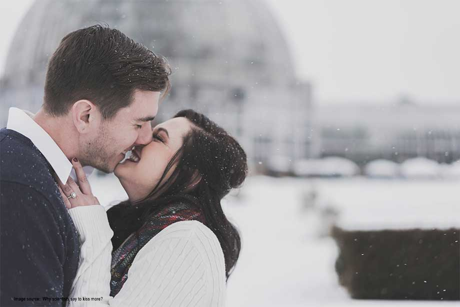 Scientist says that kissing is good for health. Kiss nine times a day