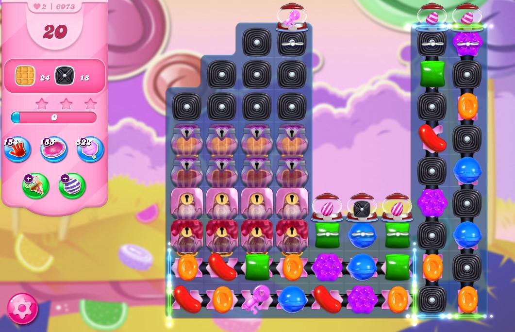 Candy Crush Saga level 6073