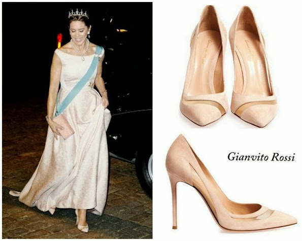 Crown Princess Mary's Gianvito Rossi Shoes