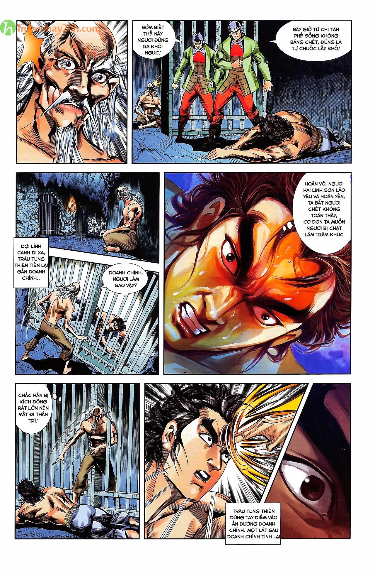 Tần Vương Doanh Chính chapter 30 trang 10