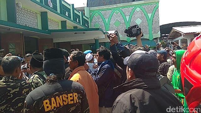 Banser Terlibat Rusuh #2019GantiPresiden Terancam Dipecat