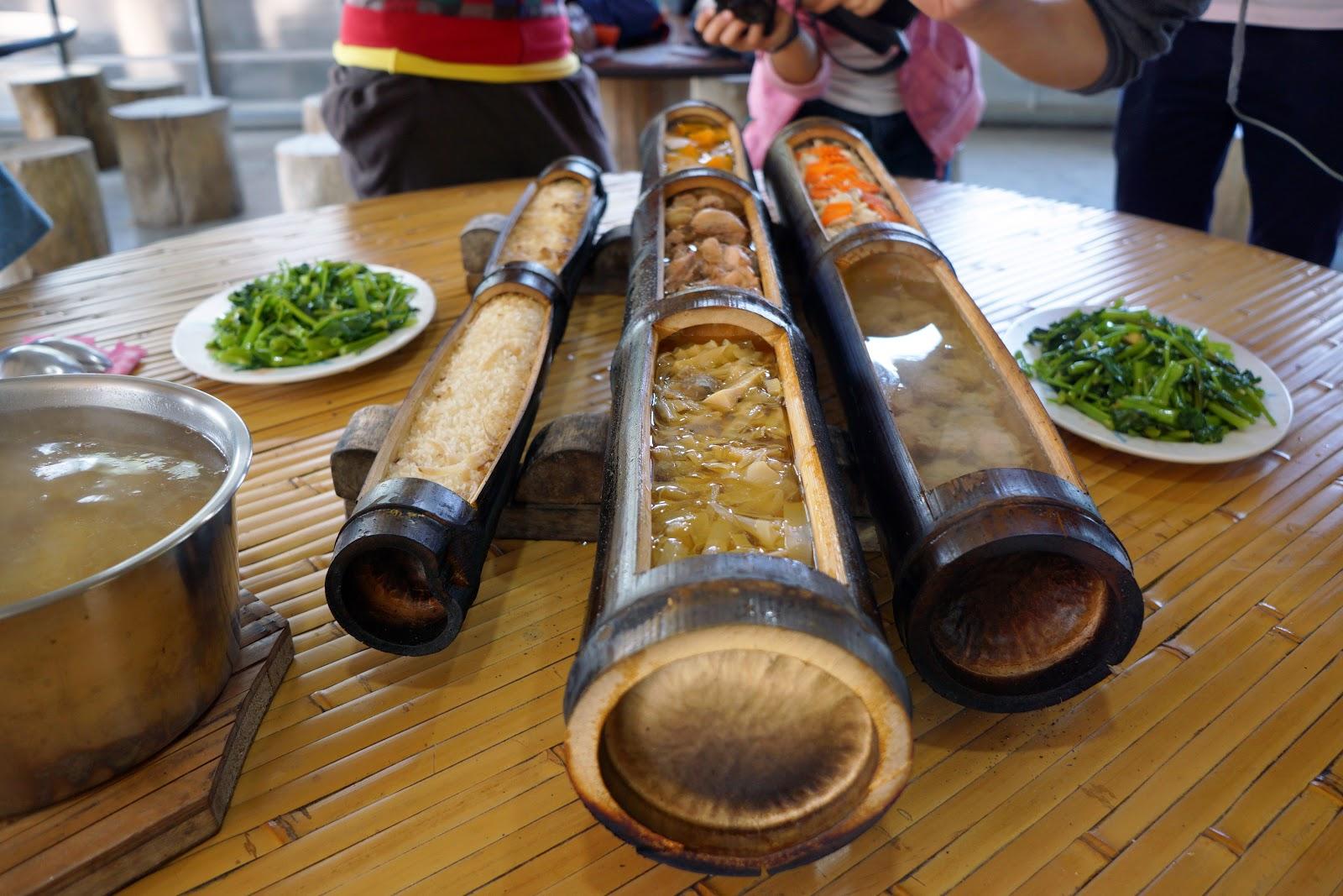 我是旅皇: 《慢遊南投做一日採茶女 茶竹食材做出特色太極宴》