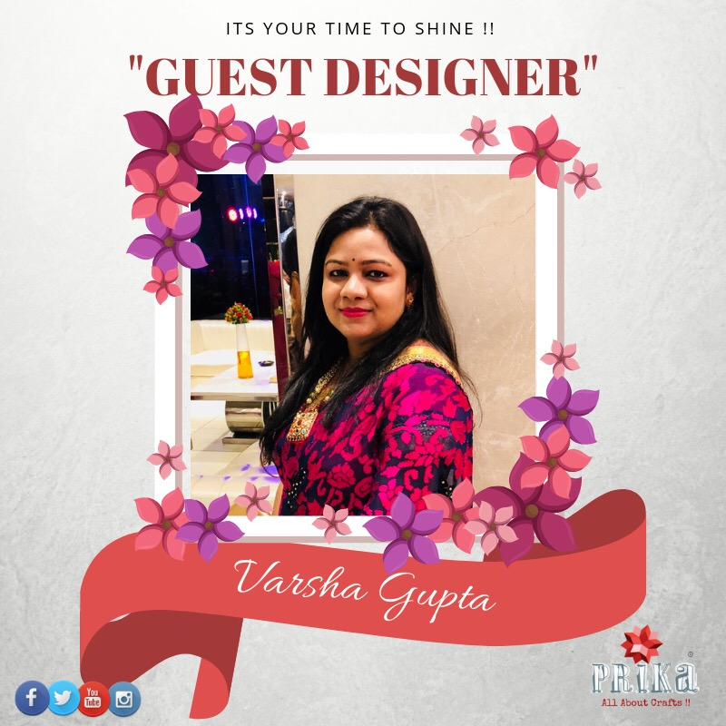 Guest designer spot at Prika handicrafts
