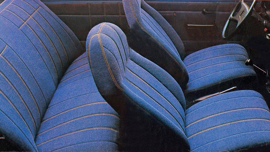 Foto do interior do Chevrolet Chevette Jeans