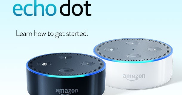 How to set up my echo dot-7203