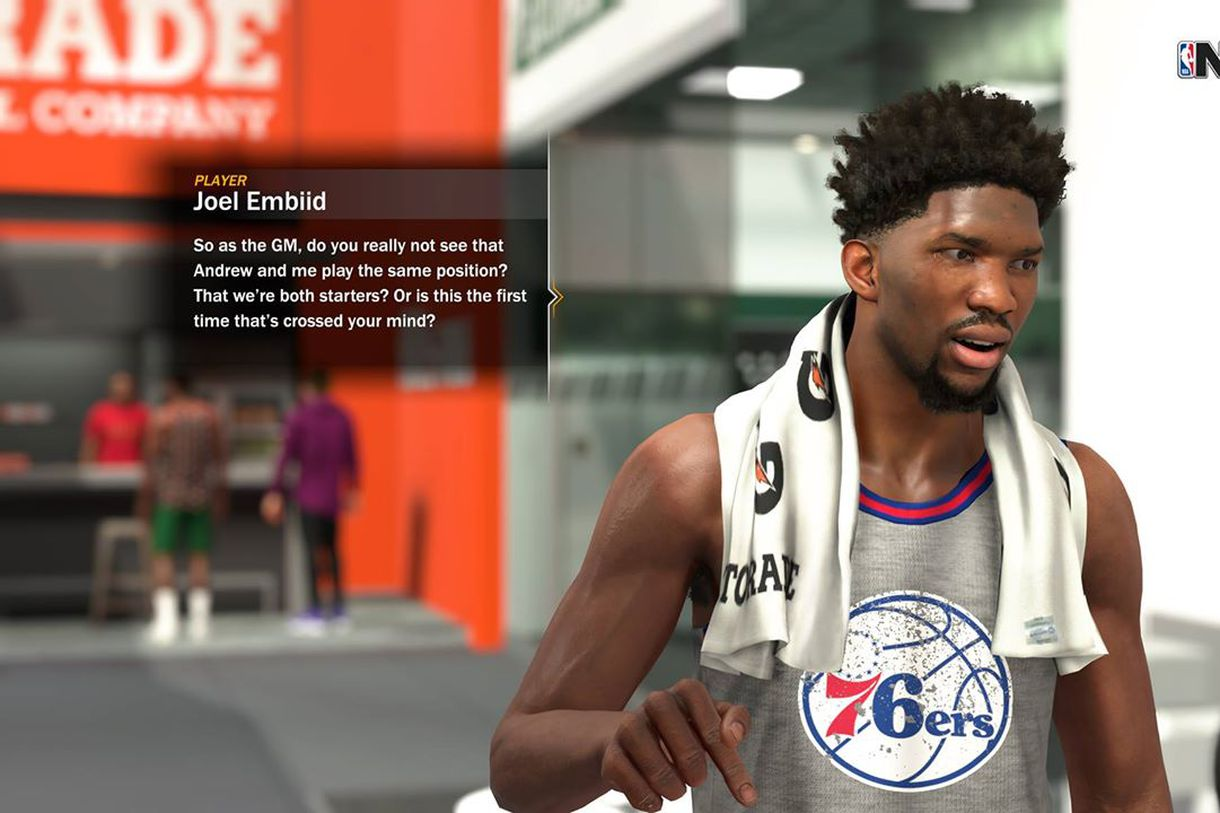 NBA 2K18 tendrá historia en su modo franquicia