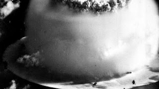 SHATTERED battleships. Blasted aircraft carriers. It was a startling outcome that terrified the United States Navy. Now footage of the final death throes of the battle fleet assembled at Bikini Atoll atomic bomb test of 1946 has been released.