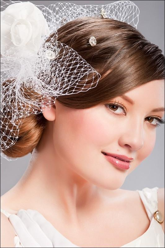 Pinkbizarre: Bridal Hairstyles With Veil