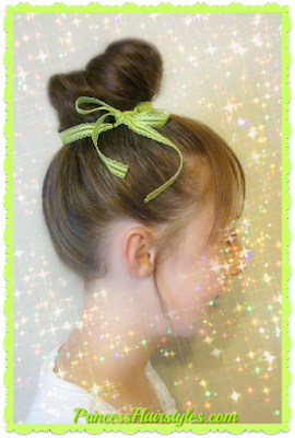 Tinker bell hairstyle tutorial, how to make faux bangs