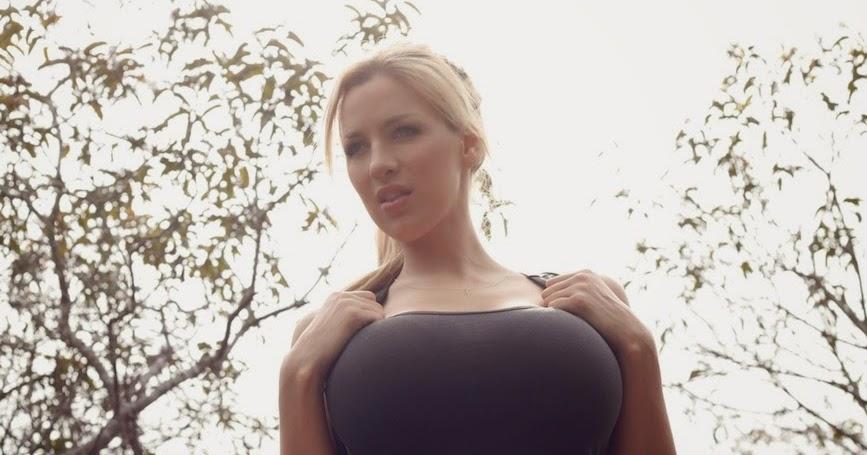 big tits hiking
