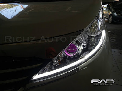 richz auto designs spesialis custom headlamp