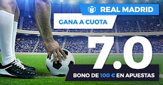 Paston Megacuota Copa del Rey: Real Madrid vs Fuenlabrada 28 noviembre