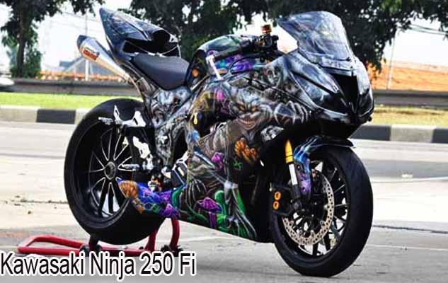 modifikasi ninja 250 fi terbaik terkeren