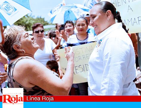 Mi gobierno seguirá trabajando para mejorar la calidad de vida de las familias: Cristina Torres