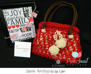 Amelia Handbag by Pink Snail Boutique