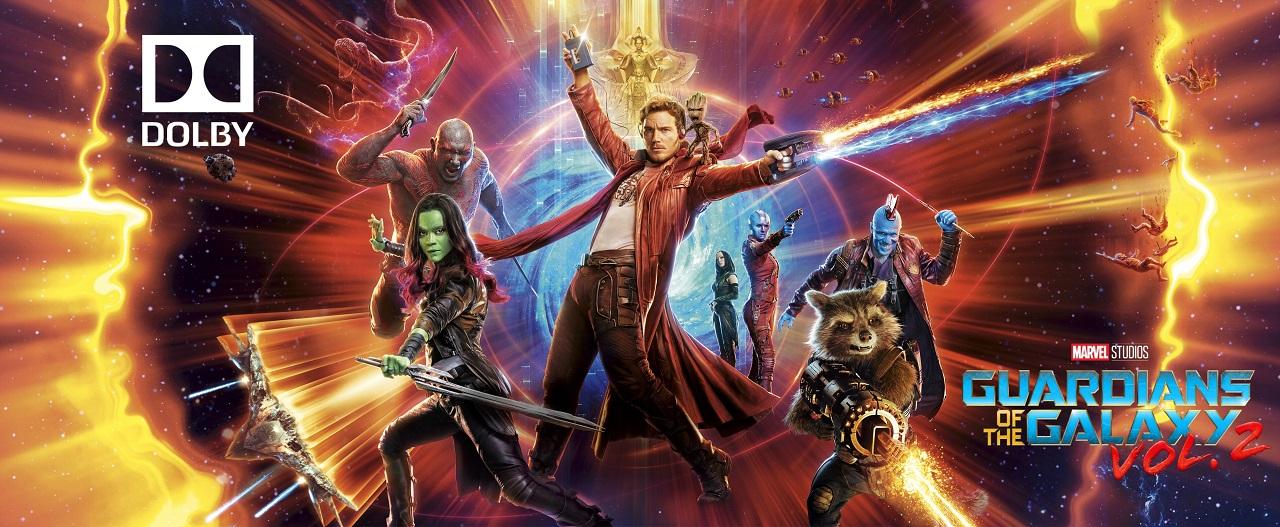 Guardians of the Galaxy Vol. 2 (2017) 4K Ultra HD Blu-ray Dolby Vision
