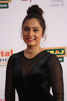 Vennela in Transparent Black Skin Tight Backless Stunning Dress at Mirchi Music Awards South 2017 ~  Exclusive Celebrities Galleries 048.JPG