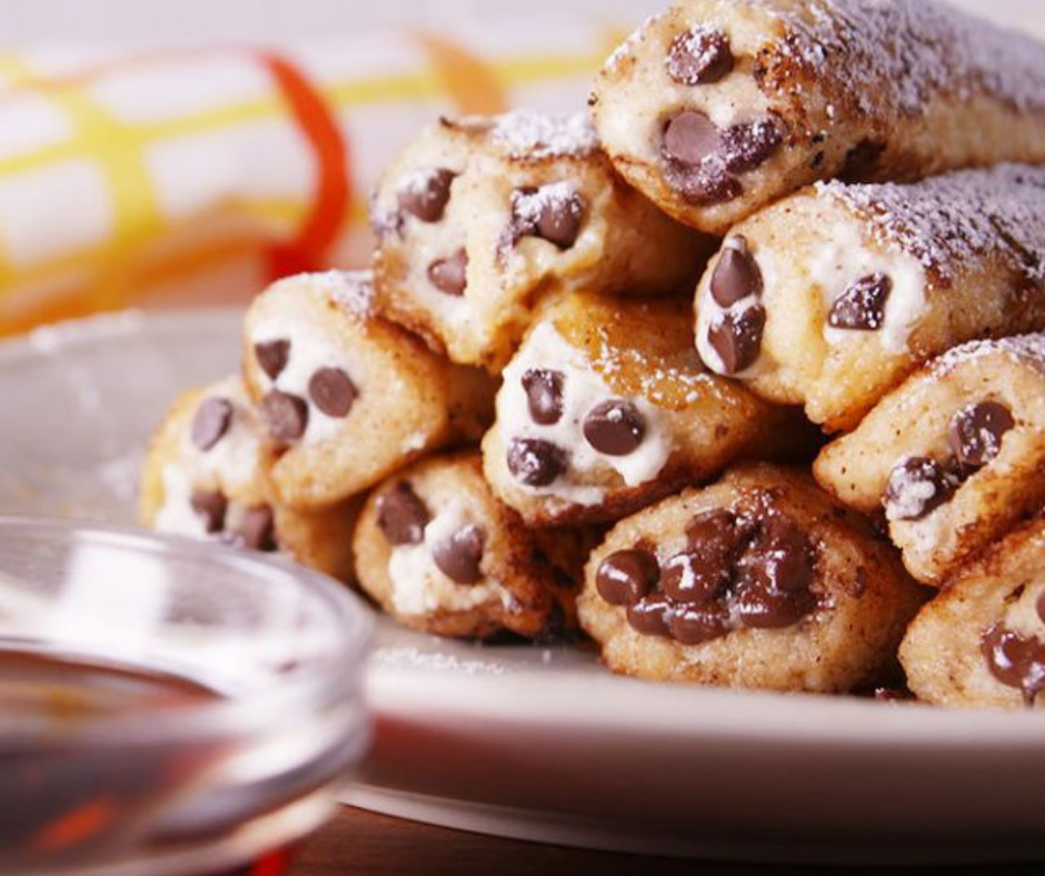 Cannoli French Toast Dippers - food-drink-recipes.com