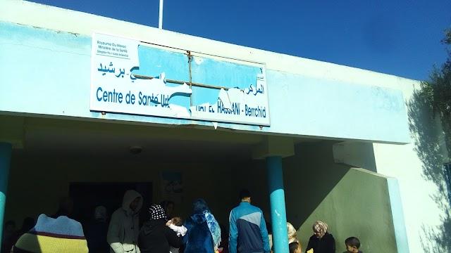 """المركز الصحي بالحي الحسني يستقبل """"160حالة تلقيح"""" في غياب تام للأمن الداخلي"""