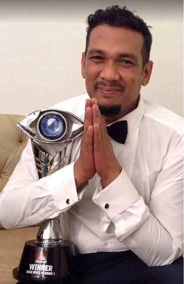 Sabumon Abdusamad is the Winner of Bigg Boss Malayalam 1