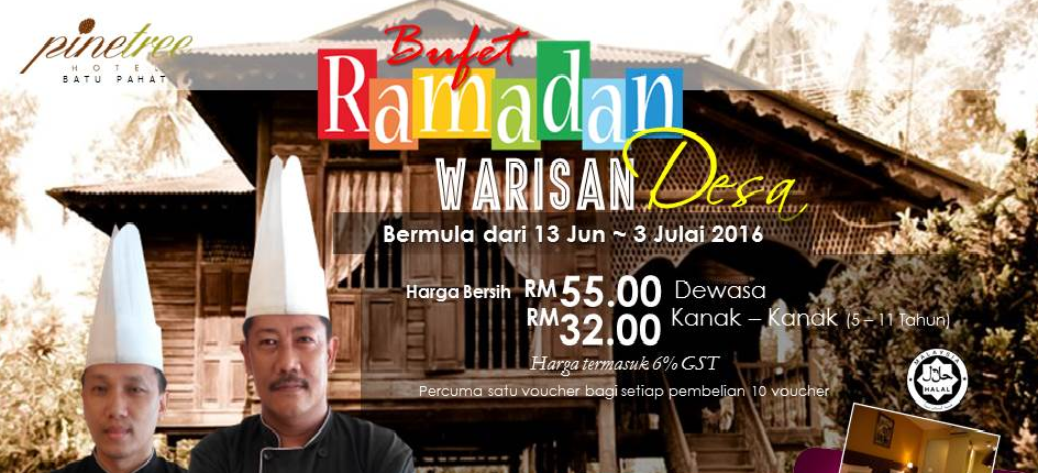 pinetree hotel bp buffet ramadhan