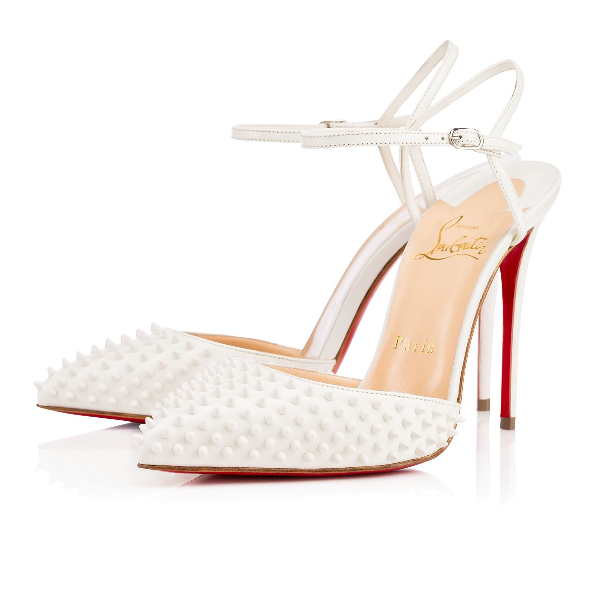 fcd5b062fc2 Christian Louboutin Baila Spike Shoes | Satchel