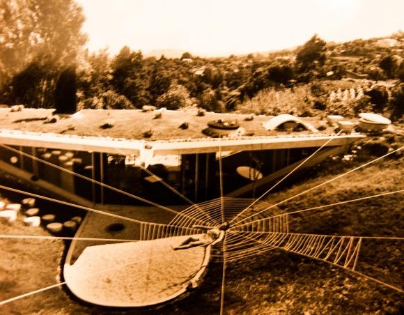 Villa d'ARMAN, Guy Rottier, projet initial, Odette Barberis-Rottier