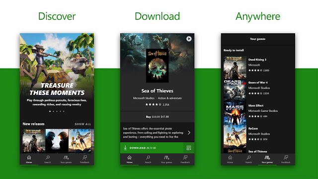 xbox game pass app android ios gamescom 2018