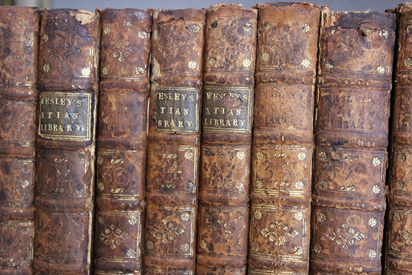 John Wesley developed a reading programme by compiling excerpts from 120 books into A Christian Library of 50 Volumes.