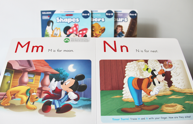 NELSON's Disney Learning Products - Board Books
