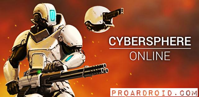 لعبة CyberSphere: Sci-fi Shooter v1.74 نسخة كاملة للأندرويد (اخر اصدار) logo