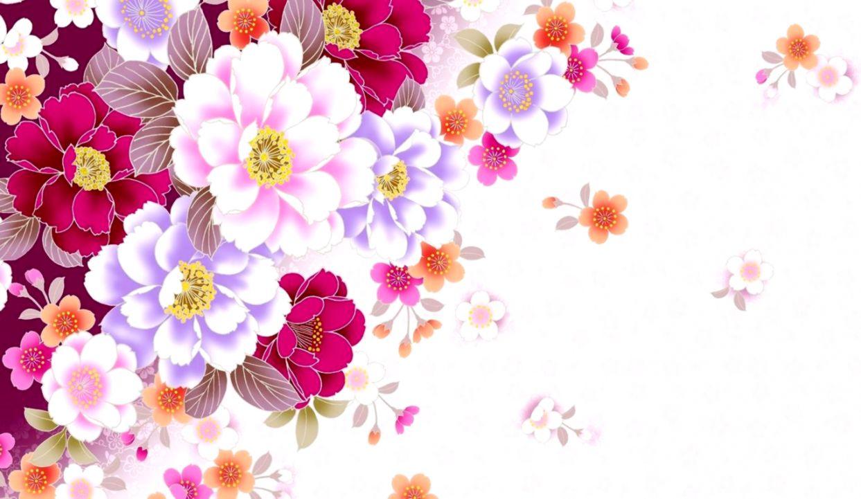 Abstract Spring Flower Desktop Wallpaper Wallpapers Gallery