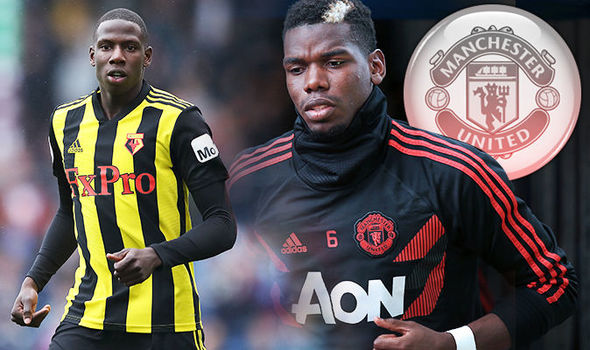 Watford Abdoulaye, Manchester United Paul Pogba