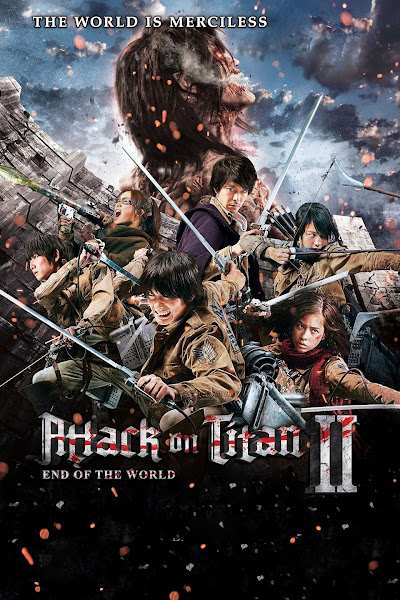 Attack on Titan 2 End of the World (2015) 1080p, 720p, HEVC, 480p Dual Audio {Hindi DD2.0 + Japanese DTS 5.1} BluRay x264 ESubs