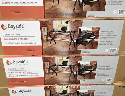 Costco 640267 - Bayside Furnishings Office Desk - perfect for any office