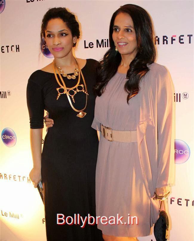 Masaba Gupta and Anita Dongre, Sonam, Jacqueline attend Farfetch Superstore Le Mill Launch