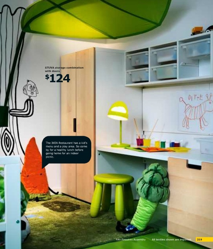 Ikea Kids Room Inspiration: IKEA Children's Room Design Ideas Catalog