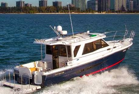 Poweryacht Mag Global Informative Motor Yacht Page New Model Cutwater 30