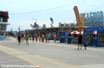 Wildwood Boardwalk in New Jersey