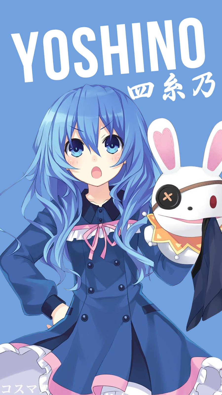 Yoshino Date A Live Anime Hd Wallpaper For Smartphone