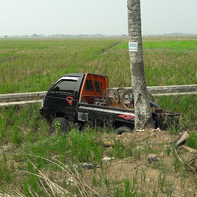 Di Jalan Raya Ini Sering Terjadi Peristiwa Kecelakaan dan Begal