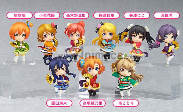 Figura Love Live! Angelic Angel Ver. Nendoroid Petite 10 Pack Box Good Smile Company