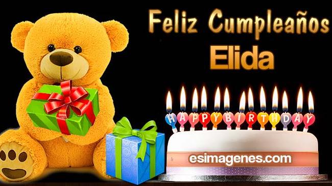 Feliz Cumpleaños Elida