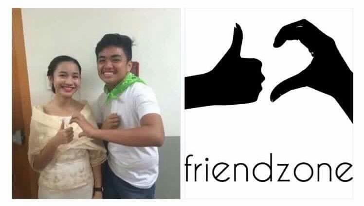 O símbolo oficial da Friendzone