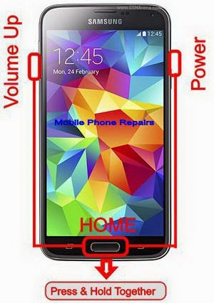 How To Hard Reset / Factory Reset Samsung Galaxy S5 - Repairs Ponsel