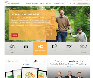 Sito FamilySearch