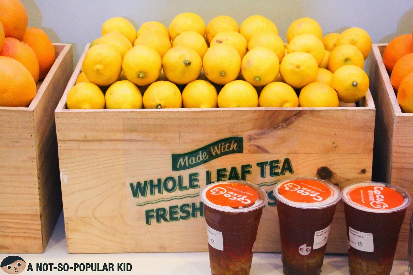 CoCo Fresh Tea & Juice in Techno Plaza, Quezon City - A Not-So