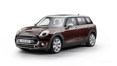 all new 2016 MINI Clubman Red hd pics