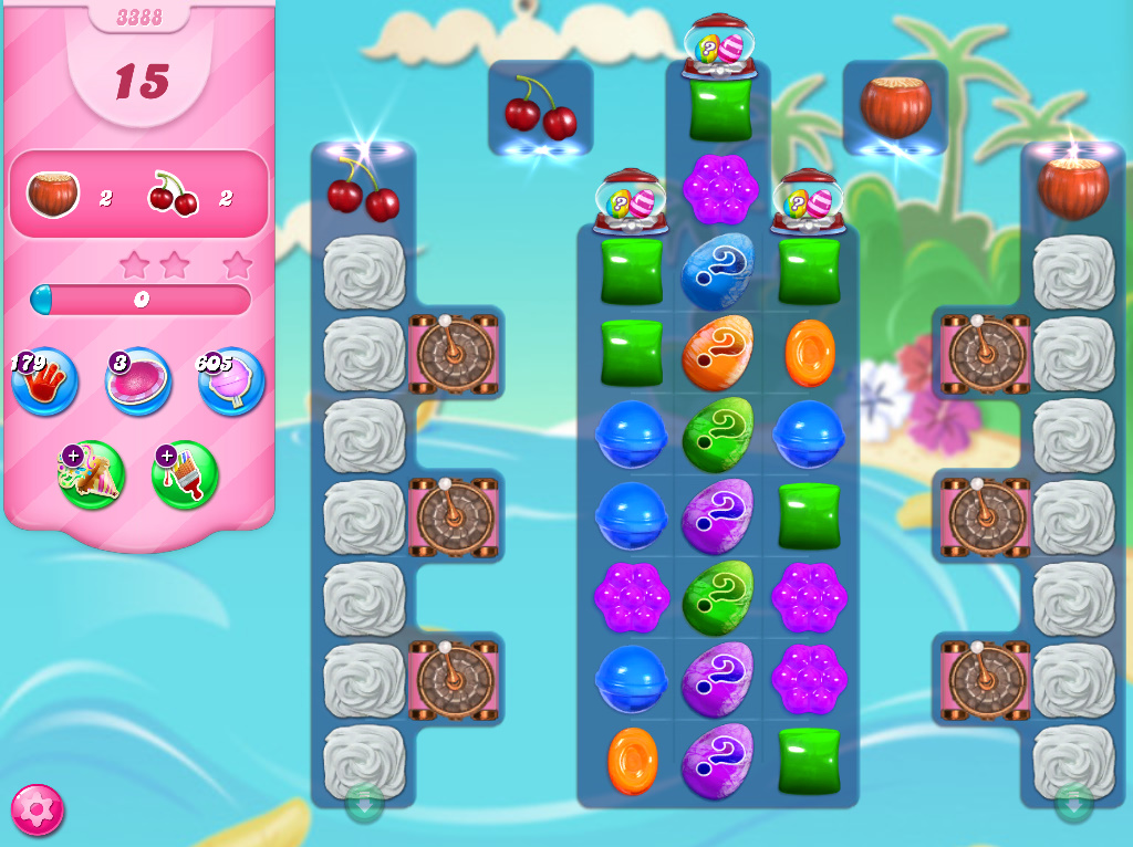 Candy Crush Saga level 3388